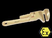 """Ключ разводной """"французский"""" искробезопасный X-Spark 127"""