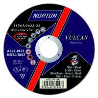 Круг отрезной и зачистной по металлу Norton Vulcan