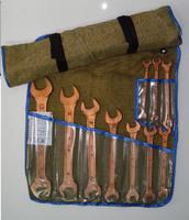 Набор ключей гаечных искробезопасных НКГ-1 ОМ (10 ед.) омеднённых