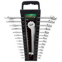 Набор ключей комбинированных на холдере 6-24мм 14 шт. GAAC1401