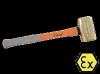 "Кувалда ""немецкая"" искробезопасная 1,0кг Al-Cu FIX-One X-Spark 192B-1004"
