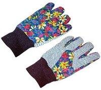 Перчатки садовые с манжетом, L