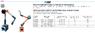 Штатив шарнирный с магнитным основанием h200х340 (вылет)
