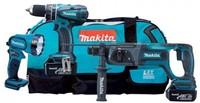 Набор аккумуляторных инструментов Makita DK1890