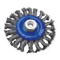 Щетка дисковая 115мм х M14 d 0.50 ST стальная плетенная проволока