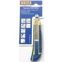 Нож с сегментным лезвием S&R 140/9 мм 432309140