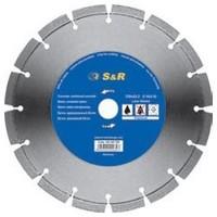 Диск отрезной сегментный по бетону 115 мм S&R Premium