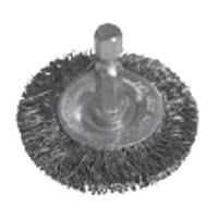Щетка дисковая 50 мм d 0.30 S стальная витая проволока