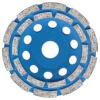 Чашка алмазная шлифовальная по бетону, камню 125мм S&R  Standart 242978125