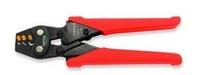Клещи для обжимки клемм с трещоткой 1,25-2-3,5 кв.мм L170мм DKBB2307