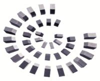 Пластины твёрдосплавные напайные ВК8,Т5К10,Т15К6
