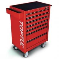 Тележка для инструмента 7 секций (красная) TCAA0702