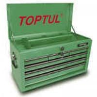 Ящик для инструмента 6 секций TBAA0601 TOPTUL 660(L)x307(W)x378(H)mm