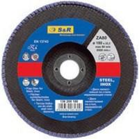 Круг зачистной лепестковый 125мм Z40 S&R Supreme (нержавейка)