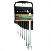 Набор ключей комбинированных супердлин. 7 шт. 10-19 (полиров)GAAM0705 TOPTUL