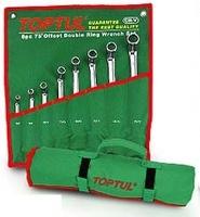 Набор накидных ключей 8-19мм (угол 75°) 6ед.GAAA0604 TOPTUL