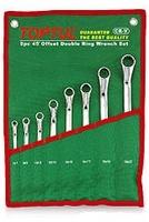 Набор накидных ключей 8-19мм (угол 45°) 6ед. GAAA0602 TOPTUL