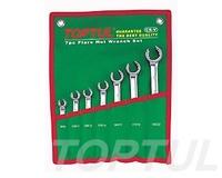 Набор ключей разрезных 7 шт.8-22 GAAA0706 TOPTUL