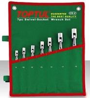 Набор ключей рожково-шарнирных 12 шт. 8-19 GAAA1208 TOPTUL