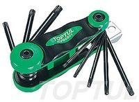 Набор складной ключей TORX: T9-T40 (материал CRV-6150)AIFB0801