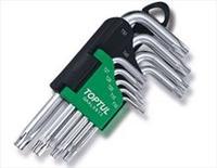 Набор Г-обр. ключей TORX T10-T50 9ед.GAAL0913