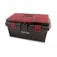 Ящик для инструмента  4 секции (пластик) 556(L)x278(W)x270(H)mm TBAE0401 TOPTUL