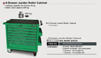 Тележка для инструмента  8 секций  JUMBO TCBA0801