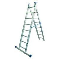 Лестница алюминиевая 2-х секционная Elkop VHR H2x10
