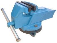 Тиски слесарные 125 мм стальные поворотные